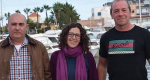 Javier Caballero, Lorena Ibañez y Xabier